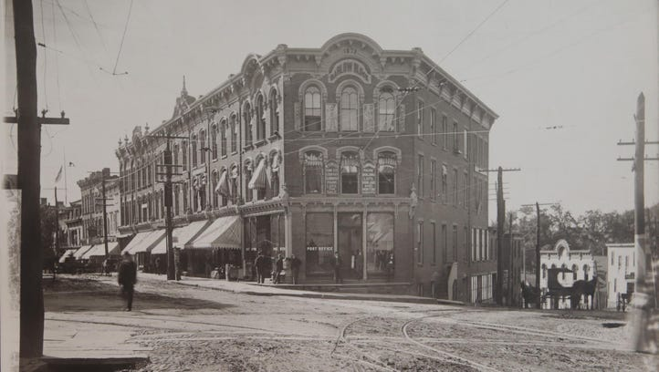 Photo of Main Street in Ossining, looking west towards