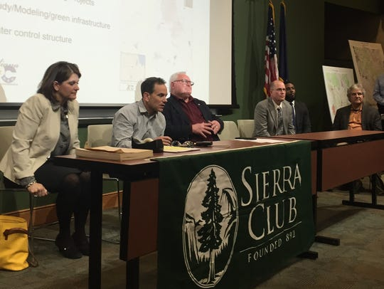 A panel of experts participated Jan. 30, 2018, in a