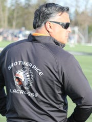 Brother Rice coach A.J. Chawla hopes to lead the Warriors to yet another MHSAA Division 1 state lacrosse championship this season. Rice has won every title since 2005.