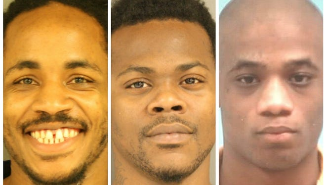 Jermaine Butler, Demarcus Jones, and Jamond Leonard are being sought by Hinds County authorities