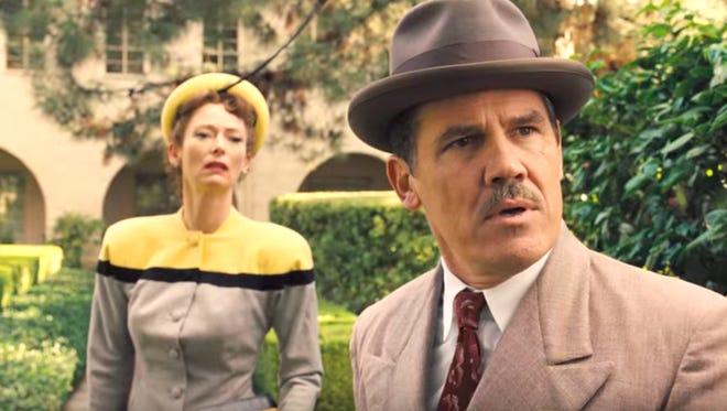 "Tilda Swinton and Josh Brolin star in the Coen brothers' latest film, ""Hail, Caesar!"""