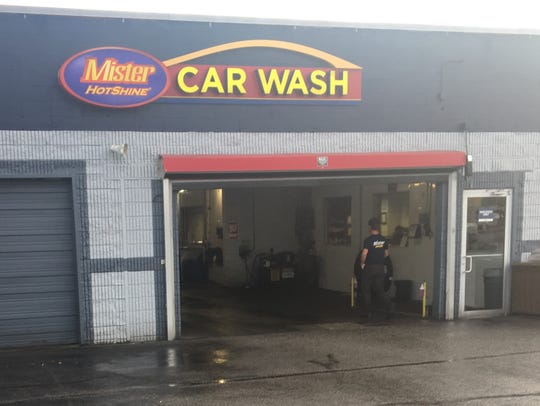 How was an employee at a car wash able to greet a reader