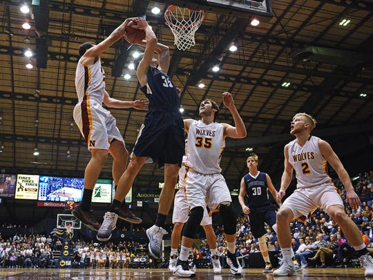 Augustana averaged over 2,600 fans playing in the Arena