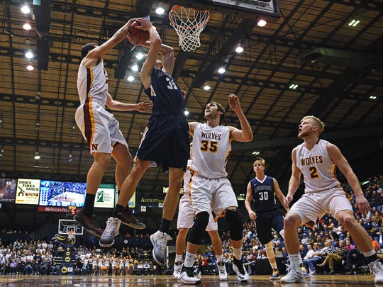 Augustana averaged over 2,600 fans playing in the Arena this season.