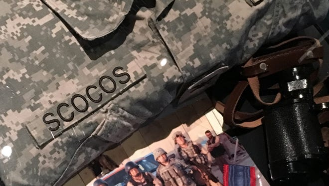 Memorabilia at the veterans museum include items acquired by Col. John A. Scocos while serving in Iraq. He is outdoing secretary of the Department of Veterans Affairs. His resignation is effective Jan. 7, 2017.