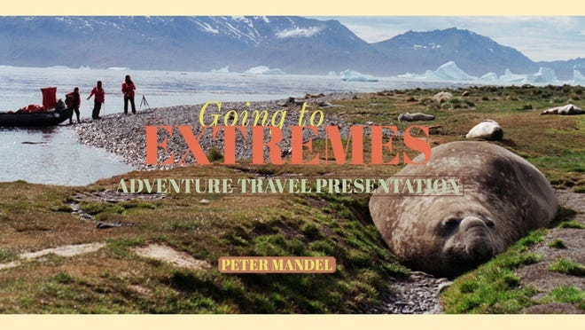Sign up to join the Friends of the Dartmouth Libraries on Thursday, Nov. 12, at 6:30 p.m. to hear award-winning journalist Peter Mandel share slides and stories of his most extreme travel experiences.