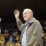 University of Wyoming basketball player Kenny Sailors.