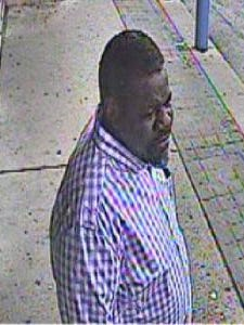 Springettsbury Township Police are looking to identify this man in connection with an alleged theft at the Walmart.
