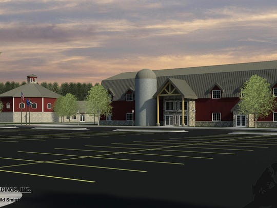 The proposed agricultural education center in Newton