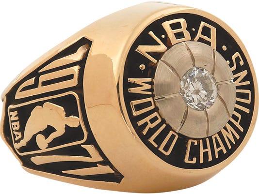 Oscar Robertson 1971 NBA championship ring