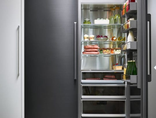 The Modernist Collection's Refrigerator and Freezer
