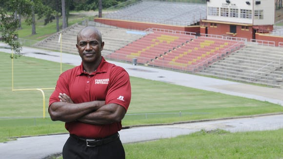 Tuskegee athletic director Curtis Campbell has been working to get a 10th game for Tuskegee to qualify for the NCAA Division II playoffs..