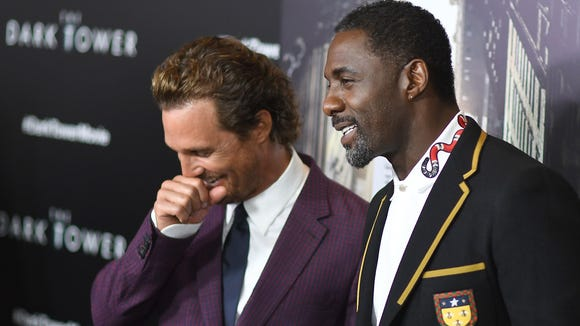 McConaughey and Elba have plenty to smile about.