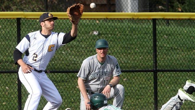 Colonia hosts South Plainfield baseball, Monday, April 13, 2015, in Woodbridge, NJ.