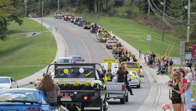 The annual FHS Homecoming Parade down Fairview Boulevard is schedule to begin shortly after 12 noon on Friday, September 30.