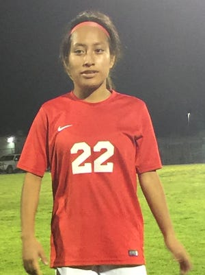 Sheila Cruz is one of the leaders for the Hueneme High girls soccer team.