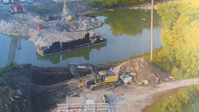 Despite challenges along the way progress is being made on the CSAH 101 bridge over the Minnesota River.