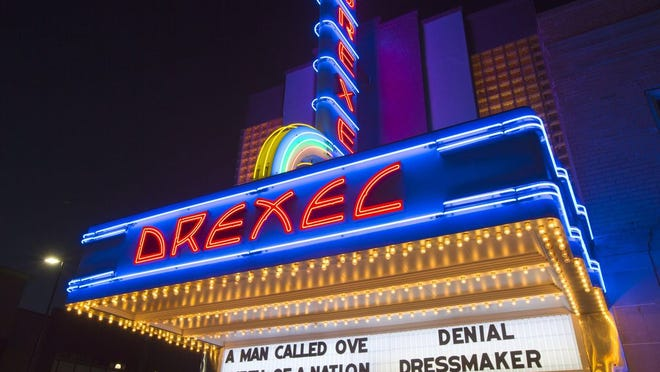 The Drexel will resume showing films on Memorial Day weekend