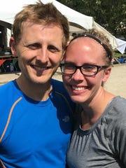 Brad and Jessica Polnasek.