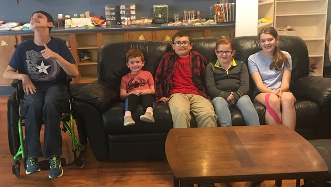 Backpack Buddies is a service group started by four Manitowoc County youth —Luke Smith, Jacob Herda, Lia Haileand Jaylee Ziemer— that aims to ensure children in foster care have a backpack of supplies when they go to a home.