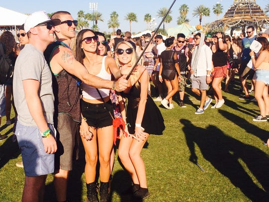 Selfie sticks are now banned, and generally considered uncool, but I thought it was the most amazing thing invented when I saw one for the first time at Coachella.