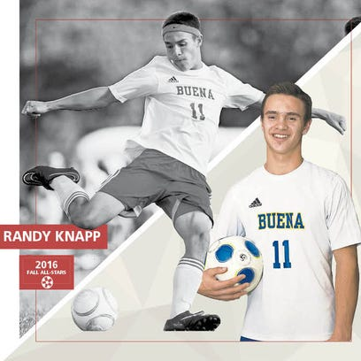Boys' Soccer: Player of the Year - Buena's Randy Knapp