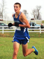 Villa Madonna senior Eric Baugh finished second in