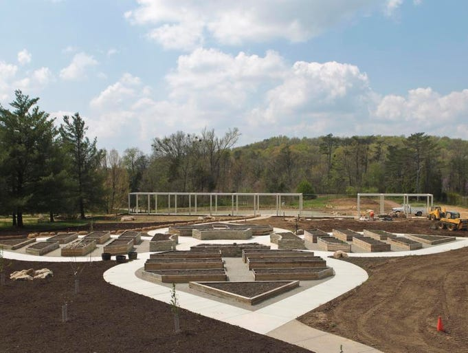 Bernheim Arboretum and Research Forest is building an edible, self-sustaining garden in Bullitt County.  April 22, 2014