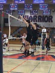 The Westlake boys volleyball team is one of the several