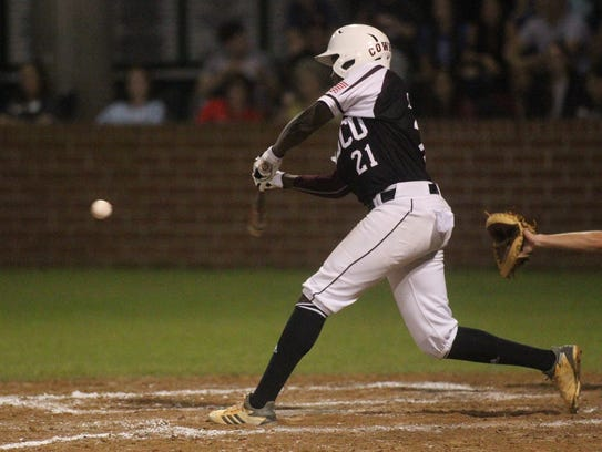 Madison County's Jae Mitchell homered in the second