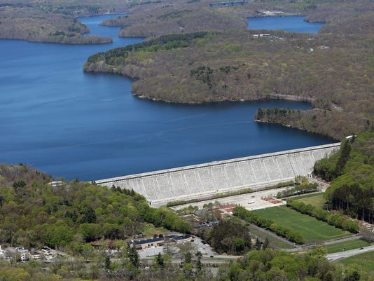 The Kensico Dam and Reservoir