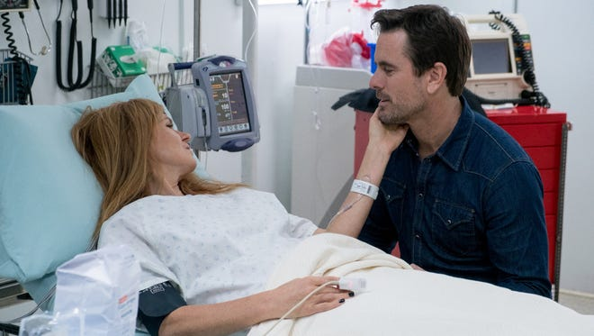 Connie Britton and Charles Esten in the February 23 episode of CMT's 'Nashville'