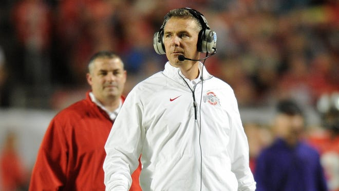 Ohio State coach Urban Meyer had surgery this past weekend to remove a cyst that had been on his brain for at least 14 years.