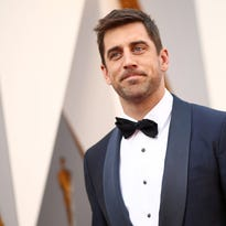 HOLLYWOOD, CA - FEBRUARY 28:  Athelete Aaron Rodgers attends the 88th Annual Academy Awards at Hollywood & Highland Center on February 28, 2016 in Hollywood, California.  (Photo by Christopher Polk/Getty Images) ORG XMIT: 601476903 ORIG FILE ID: 512943642