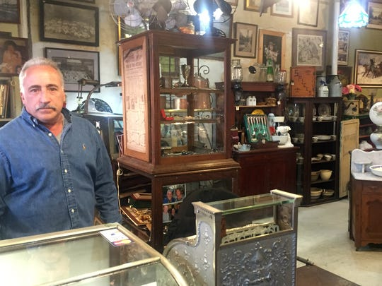 Anthony D' Arinzo of Stone Bridge Antiques in the Village