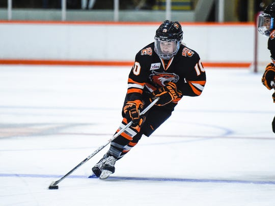 RIT sophomore Kendall Cornine grew up in Kinnelon and