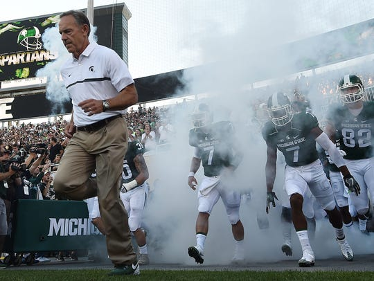 Mark Dantonio and Michigan State have been regulars