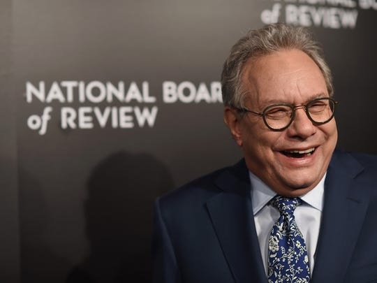He's not always angry: Lewis Black was in a good mood at the National Board of Review Gala on Jan. 5, 2016, in New York City.