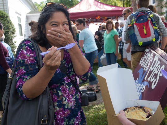 The annual Naples Grape Festival happens Saturday and