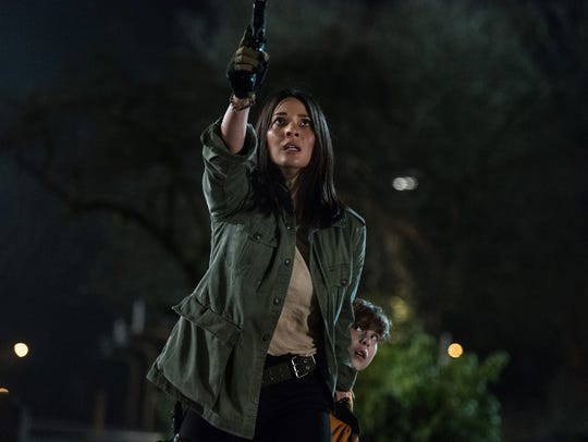Olivia Munn and Jacob Tremblay are in serious sci-fi