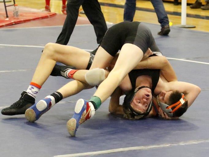 Danville's Logan Walters beat Spencer-Van Etten/Candor's