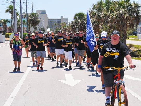 On Thursday afternoon members of the Cocoa Beach Police