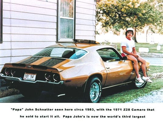 Papa John Schnatter's original 1971 Camaro