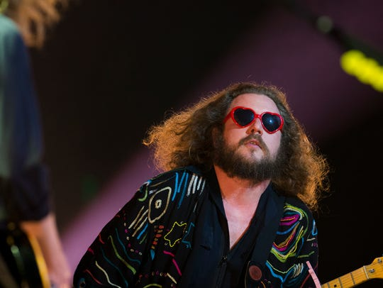 My Morning Jacket performs at Iroquois Amphitheater