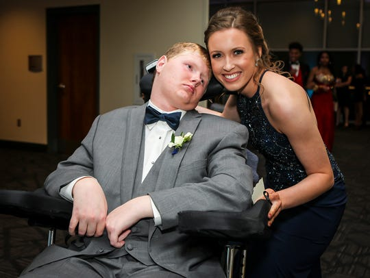 Siegel High football player Baylor Bramble attended