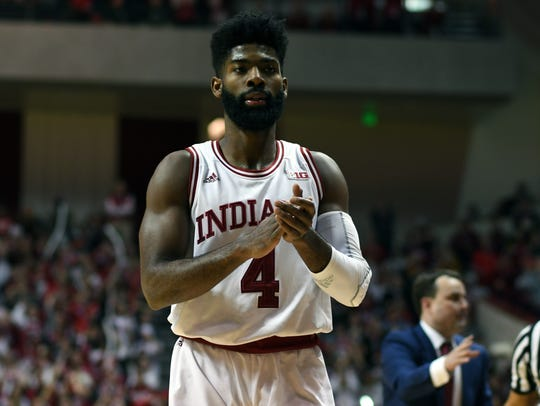 Hoosiers guard Robert Johnson will play in a 3-on-3