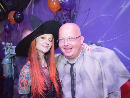 The Red Headed Witches hosted a Monster's Ball Fundraiser