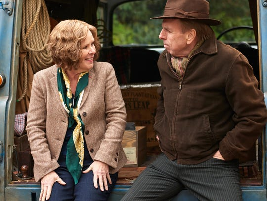 "Imelda Staunton and Timothy Spall star in ""Finding"