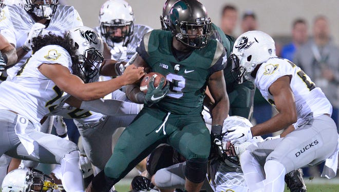 Michigan State has scored 30 points or more in 11 straight games