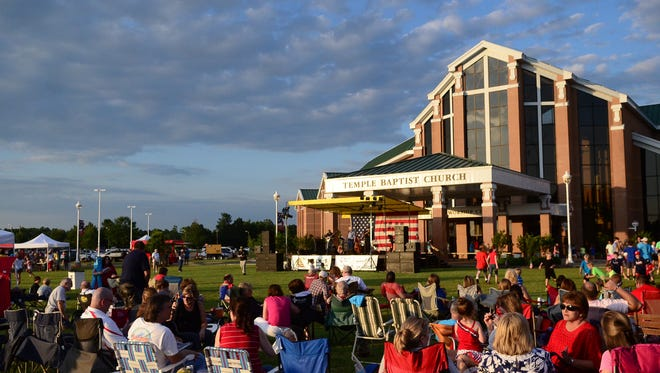 The annual Celebrate America event is set for Sunday at Temple Baptist Church.